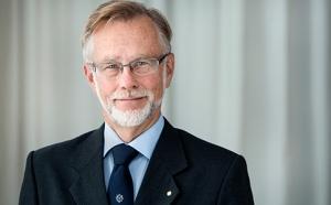 Kungl. Vetenskapsakademiens ständige sekreterare Göran K. Hansson.